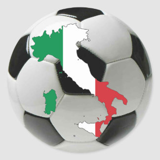 Italy national team round sticker