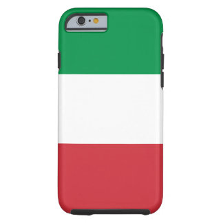 Italy National World Flag Tough iPhone 6 Case