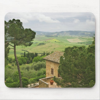 Italy, Pienza. View of the Tuscany Mouse Pad