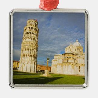 Italy, Pisa, Duomo and Leaning Tower, Pisa, 2 Metal Ornament
