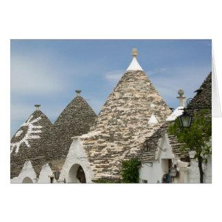 Italy Puglia Alberobello Terra dei Trulli Greeting Cards
