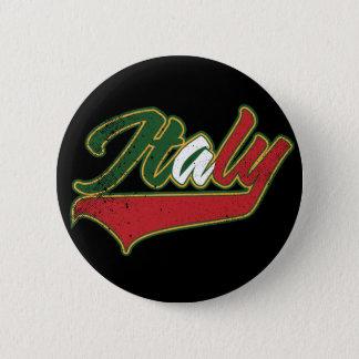 Italy Retro 6 Cm Round Badge