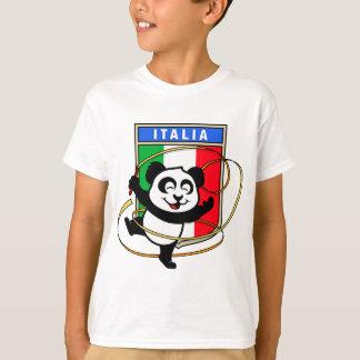 Italy Rhythmic Gymnastics Panda T-Shirt