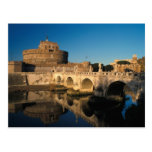 Italy, Rome, Castel Sant'Angelo and river Postcards