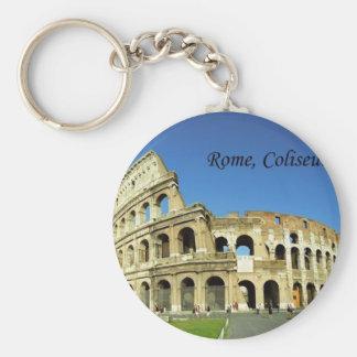Italy Rome Coliseum (new) (St.K) Basic Round Button Key Ring