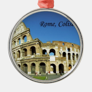 Italy Rome Coliseum (new) (St.K) Silver-Colored Round Decoration