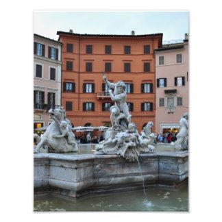 Italy Rome Fountain Photo