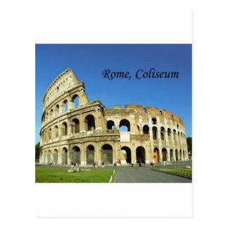 Italy Rome Roman Coliseum St K Post Card