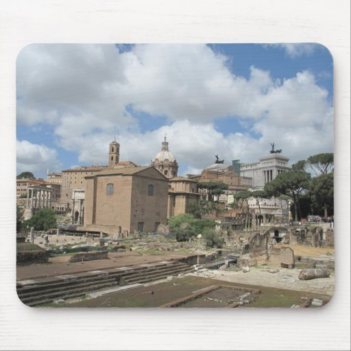 Italy, Rome - Roman Forum photo Mouse Mats