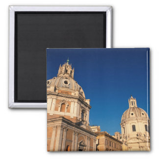 Italy, Rome, Santa Maria di Loreto church and Square Magnet