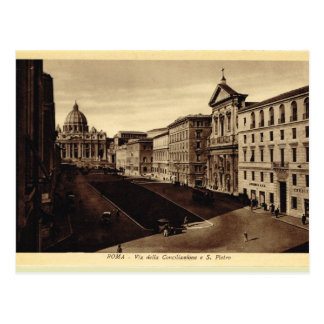 Italy, Rome,St Pater's Basilica Postcard