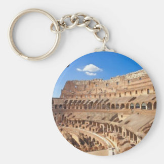 Italy-rome-the-ancient-collosseo [KAN.K].JPG Basic Round Button Key Ring