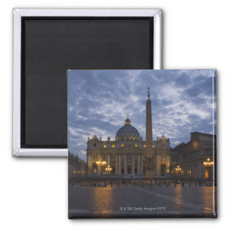 Italy, Rome, Vatican City, St. Peter's Basilica Square Magnet