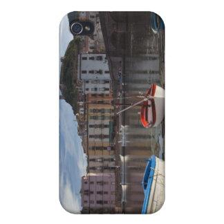Italy, Sardinia, Bosa. Temo River and Ponte iPhone 4 Cases