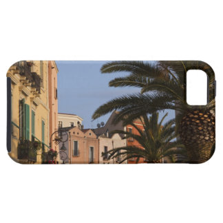Italy, Sardinia, Cagliari. Buildings and palms iPhone 5 Cover