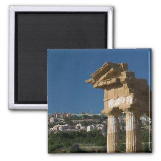 Italy, Sicily, Agrigento, La Valle dei Templi, 2 Magnet