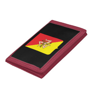 Italy - Sicily Coat of Arms Wallet