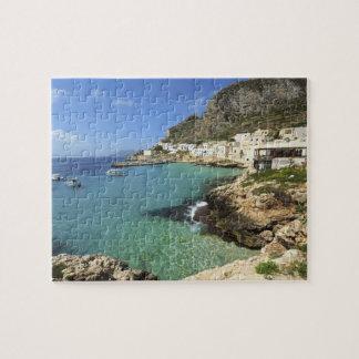 Italy, Sicily, Egadi Islands, Levanzo, Puzzle