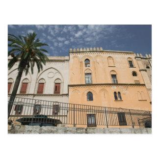 Italy, Sicily, Palermo, Palazzo dei Normanni Postcard