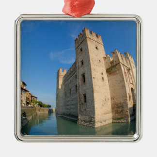 Italy, Sirmione, Lake Garda, the Scaliger Metal Ornament