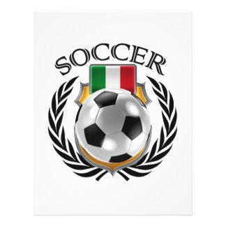 Italy Soccer 2016 Fan Gear 21.5 Cm X 28 Cm Flyer