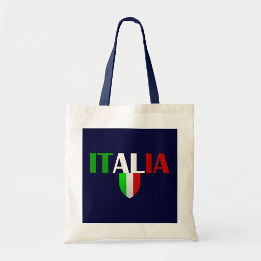 Italy Soccer T-shirts and gifts ideas Budget Tote Bag