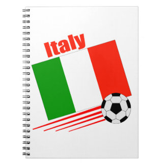Italy Soccer Team Notebooks