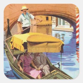 Italy - Square Sticker