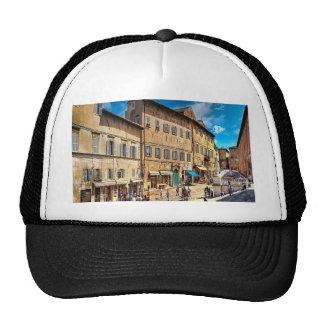 Italy Streets Mesh Hats