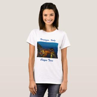 Italy T-Shirt - Vernazza, Cinque Terre Village