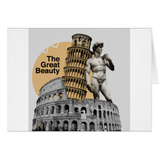 Italy, The Great Beauty Card