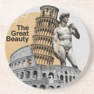 Italy, The Great Beauty Coaster