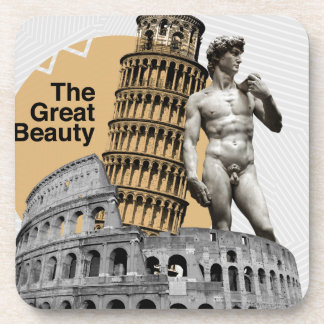 Italy, The Great Beauty Drink Coasters