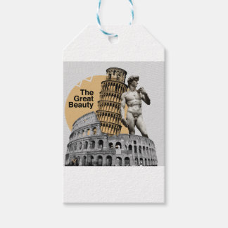 Italy, The Great Beauty Gift Tags