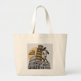 Italy, The Great Beauty Large Tote Bag