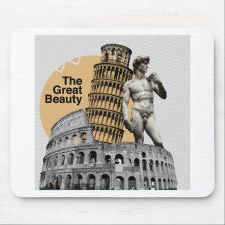 Italy, The Great Beauty Mouse Pad
