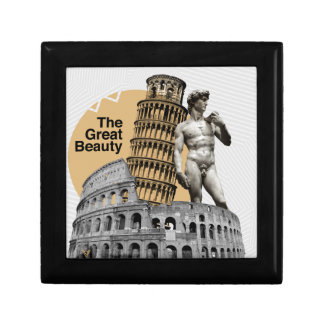 Italy, The Great Beauty Small Square Gift Box