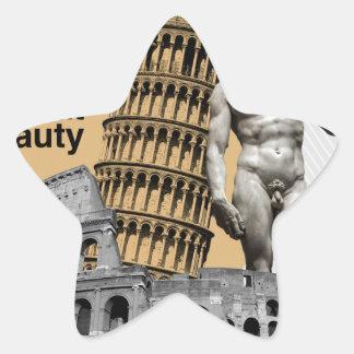 Italy, The Great Beauty Star Sticker