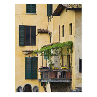 Italy, Tuscany, Florence. Balcony and Postcard