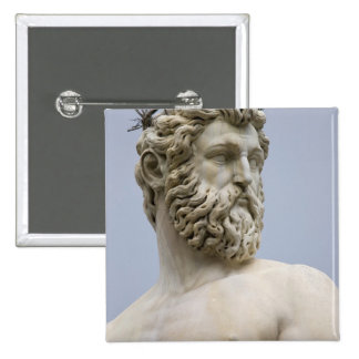 Italy, Tuscany, Florence, Piazza della 15 Cm Square Badge