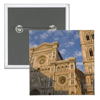 Italy, Tuscany, Florence. The Duomo. 15 Cm Square Badge