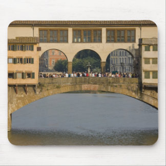 Italy, Tuscany, Florence, The Ponte Vecchio Mouse Pad