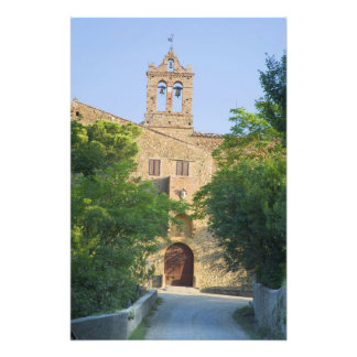 Italy, Tuscany, La Foce, Picturesque church in Photograph