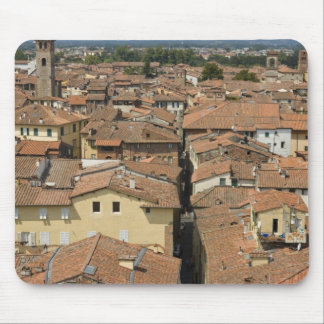 Italy, Tuscany, Lucca, View of the town and Mouse Pad
