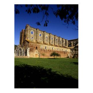 Italy: Tuscany, Massa Marittima, San Galgano Postcard