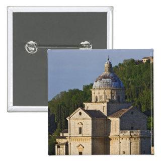 Italy, Tuscany, Montepulciano. Church of San 15 Cm Square Badge