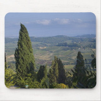 Italy, Tuscany, Montepulciano. View of the Mouse Pad