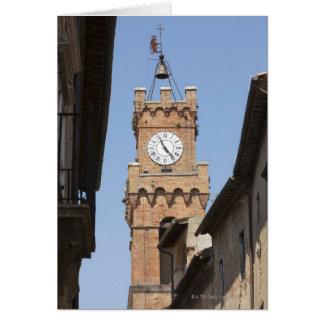Italy. Tuscany. Pienza. 2 Card