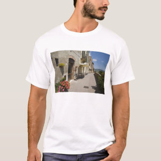 Italy, Tuscany, Pienza. Outer walkway around T-Shirt