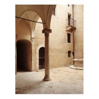 Italy,Tuscany,Pienza Postcard